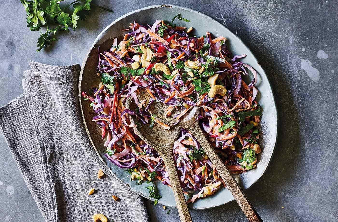 Spiced Indian slaw recipe