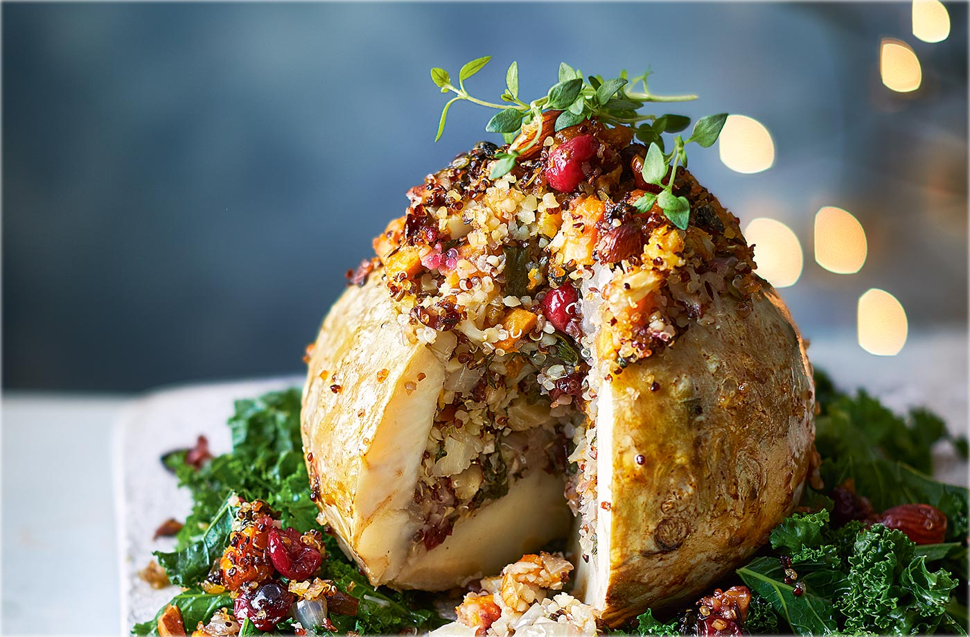 10 delicious vegetarian Christmas main courses | Tesco Real Food