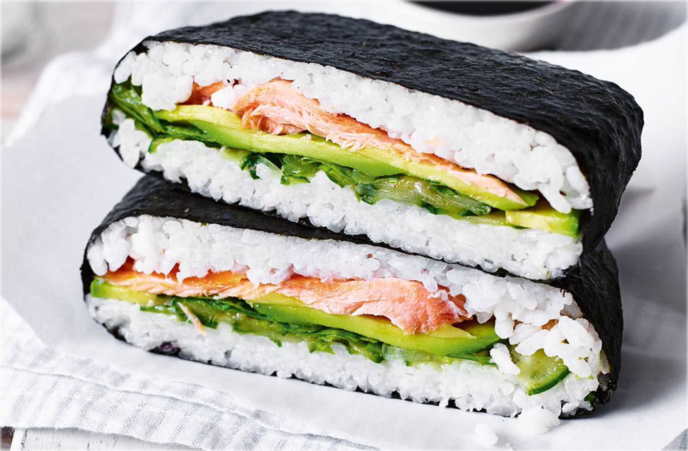 Sushi Sandwich Recipe | Lunch Ideas