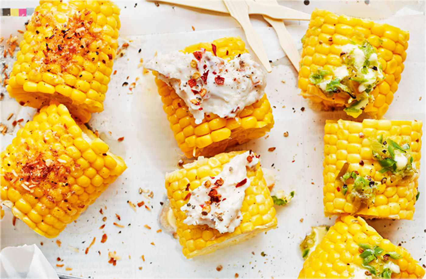 Pick 'n' mix corn