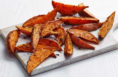 Derek's sweet potato and rosemary fries