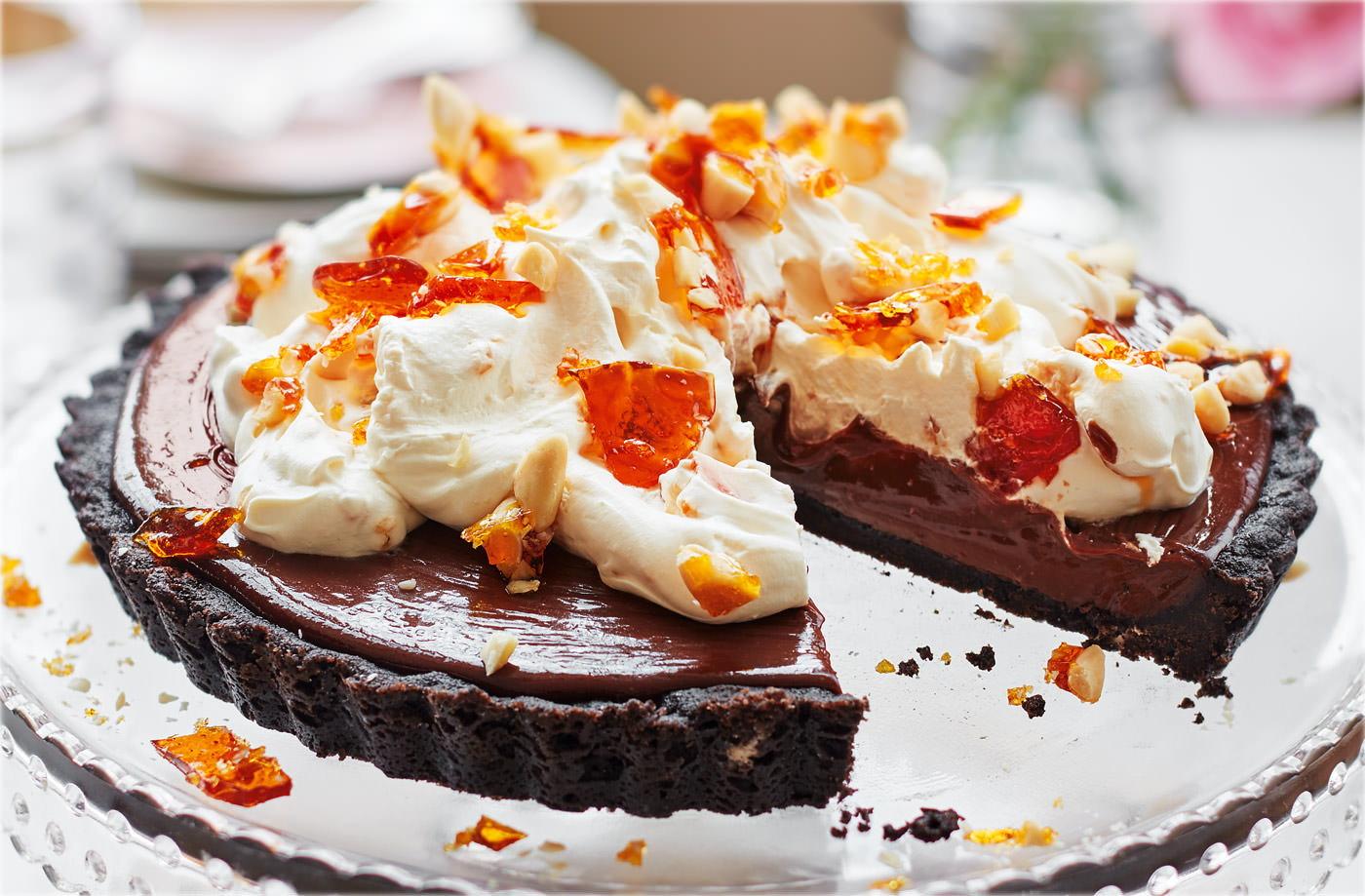 Chocolate mousse pie recipe dessert recipes tesco real food forumfinder Choice Image
