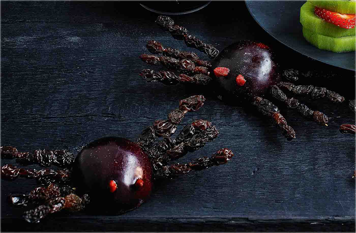 Plum spiders recipe