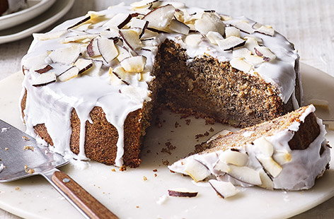 There's a surprising ingredient in this banana cake recipe – banana peel! Not only does it make the most of every part of the fruit, it's super squidgy and wonderfully spiced with cinnamon for a delicious afternoon treat