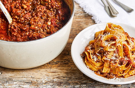 Batch-it-up family Bolognese