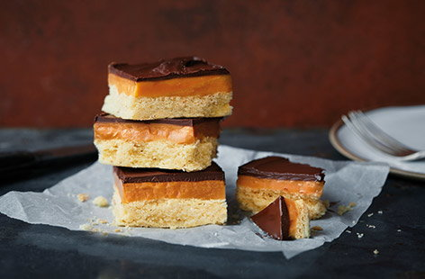 This indulgent take on a millionaire's shortbread has a modern twist with a thick layer of salted caramel in the middle. With a crumbly shortbread base and thick chocolate topping, these make a delicious treat that everyone will love.