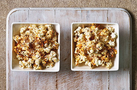 When hunger hits between meals, this cheesy popcorn is guaranteed to satisfy your cravings