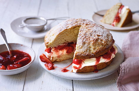 Whether classic or with a new flavour twist, we've got all the scone recipes you'll need.
