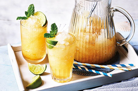 Ginger ale slushies