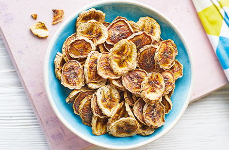 Ginger banana chips