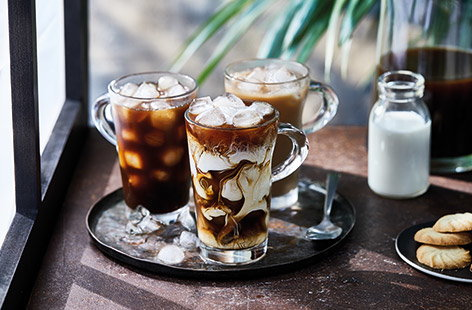 Be your own barista with this super simple homemade iced coffee recipe. Rich yet refreshing, you can use your own favourite coffee and serve it just as you like – black, with a dash of milk or even a swirl of indulgent cream for a real treat.