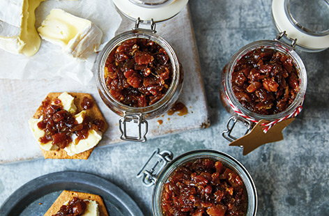 A little effort goes a long way – this smoky bacon jam is the ideal edible Christmas gift for the food-fanatic in your family