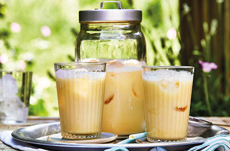 Try a new twist on piña colada with this fruity mango colada cocktail recipe