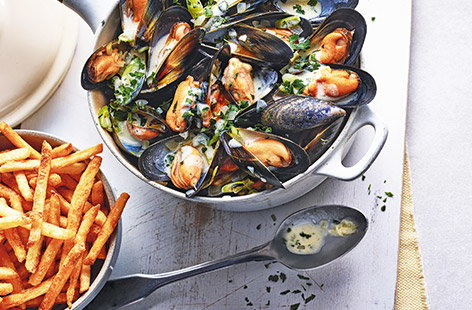 How to make moules frites