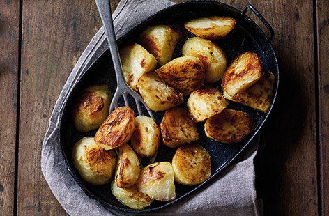 For the best roast potatoes recipe, that's perfect every time, we've got you covered. With just a handful ingredients, these classic roasties keep it simple – serve with your favourite roast centrepiece, plenty of veg and lashings of gravy