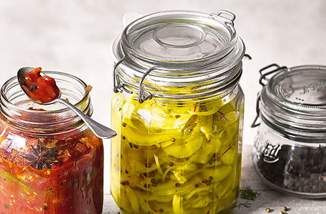 Quick cucumber and fennel pickle