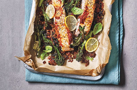 This simple salmon recipe is so easy to make and is the perfect dinner idea for two