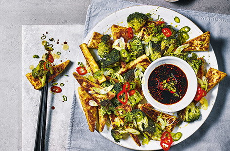Vegan food doesn't always have to involve meat substitutes and flavour compromises. Derek Sarno's salt and pepper tofu is a spicy, Chinese-inspired recipe that's best when shared amongst friends and family.