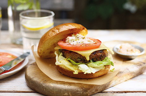 Add some extra veg to your next barbecue with these secret veg cheeseburgers. Using the veg-inclusions burgers is a simple shortcut to changing your classic burger recipe, all you need to do is layer up with salad and an easy burger sauce.