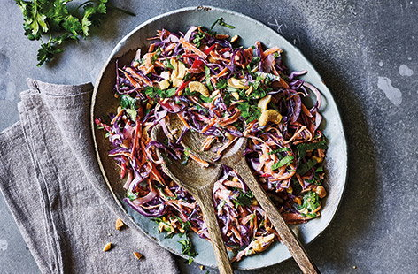 Spiced Indian slaw