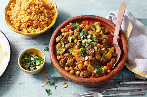 Packed with aromatic spices, sweet apricots and honey, plus tender lamb, this Moroccan tagine recipe is inspired by the classic flavours of North African cooking.