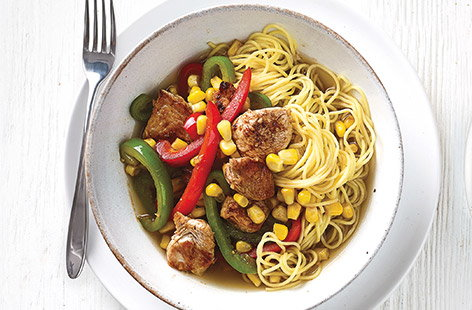 Turkey noodles