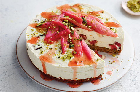 Turkish delight cheesecake