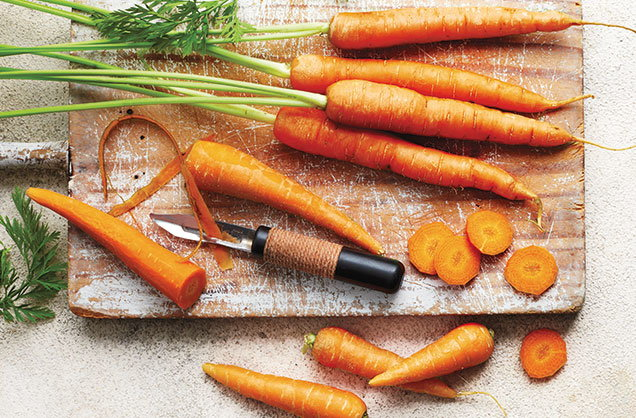 Seven ways to use up leftover carrots