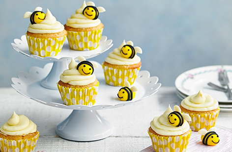 Easter edible gift ideas tesco real food bee cupcakes negle Gallery