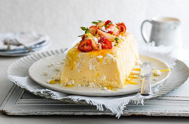 Lemon and Yogurt Semifreddo | Italian Desserts | Tesco Real Food