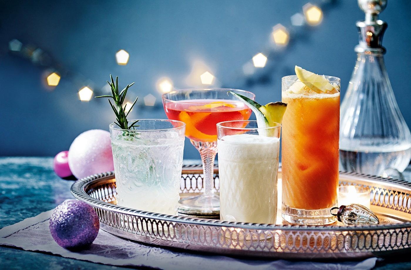 Grapefruit And Rosemary Gin Fizz Recipe   Festive Cocktail Recipes ...