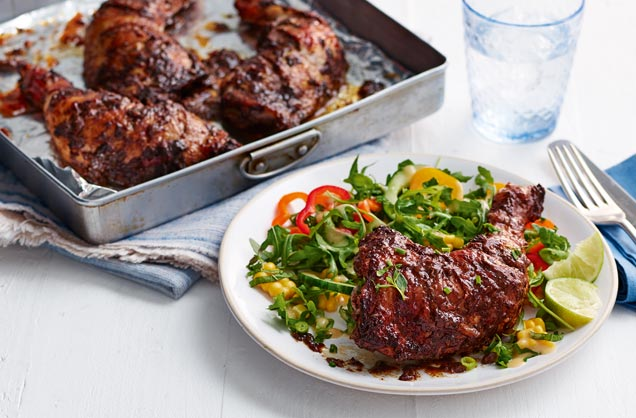 Birdie's jerk chicken