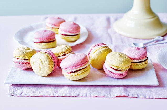 Battenberg Macarons Macaron Recipes Tesco Real Food