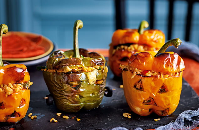 Scary stuffed peppers recipe
