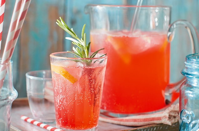 Ginger pink lemonade recipe
