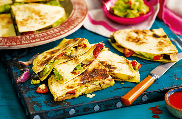 Spicy quesadillas recipe