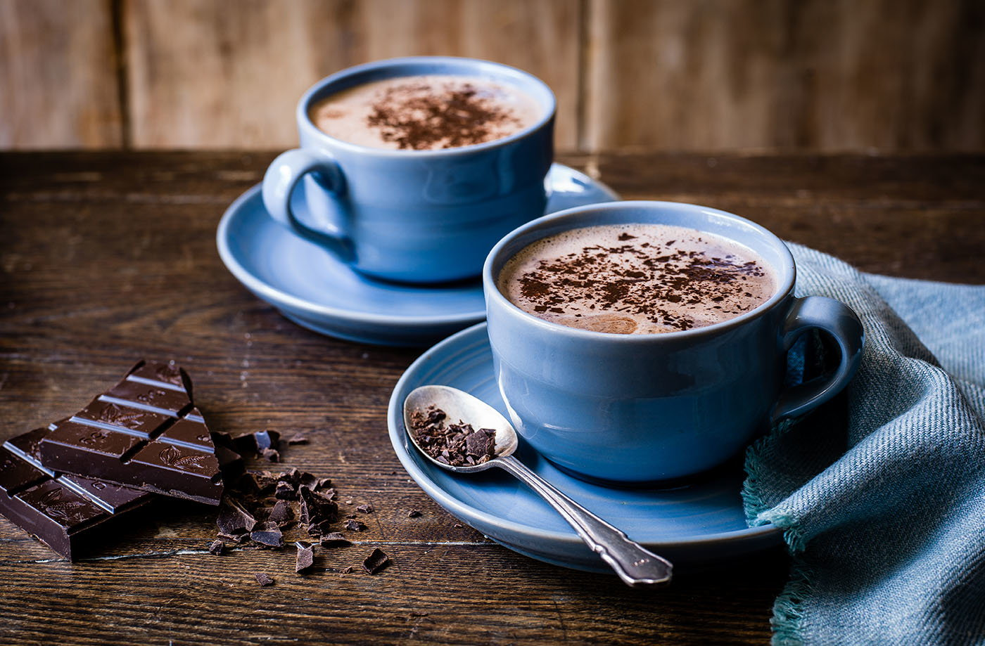 how to make hot chocolatd with real chocolate