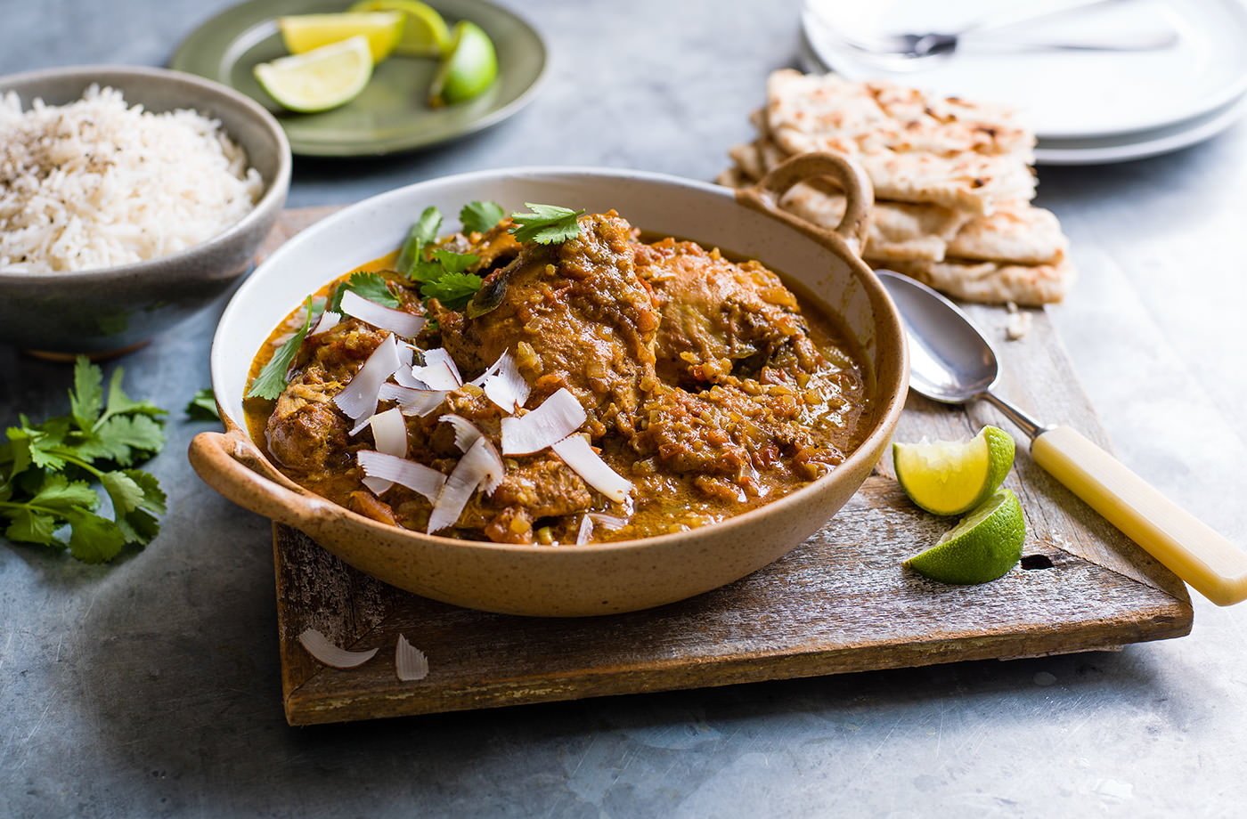 Slow cooker south Indian chicken curry recipe