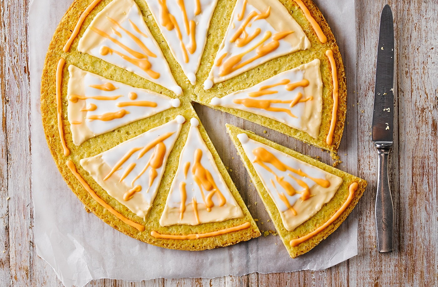 Orange shortbread recipe