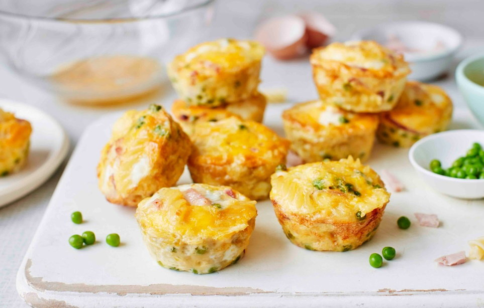 Pea ham frittata frittata recipes tesco real food forumfinder Gallery