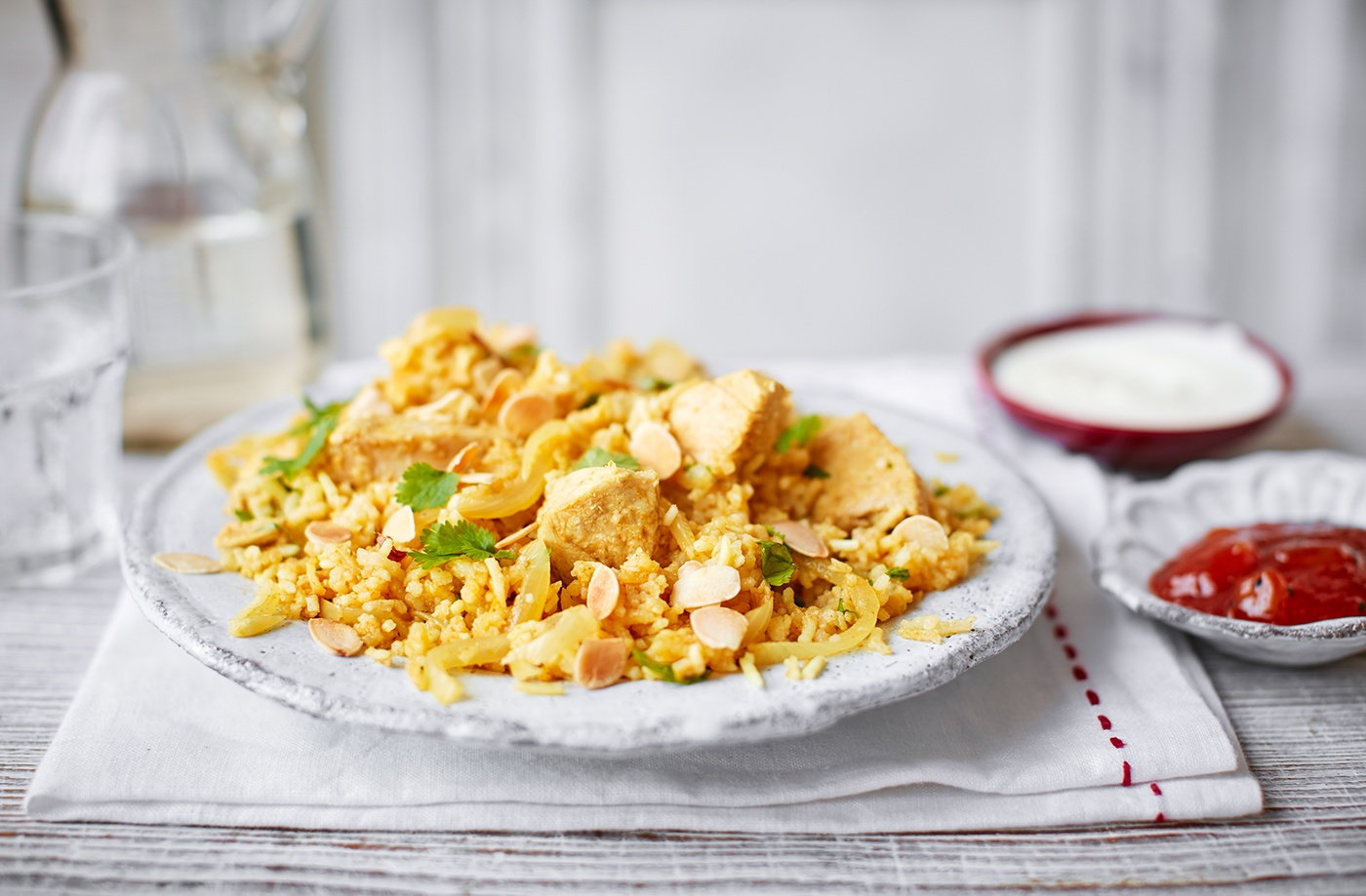 Leftover turkey biryani recipe