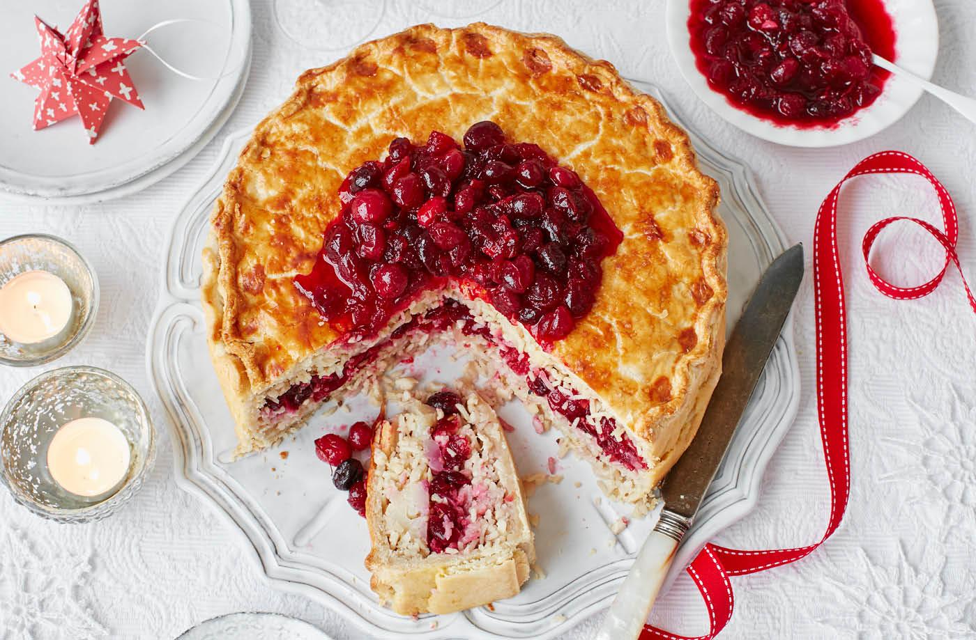Vegan christmas pie