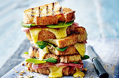 Perfectly crisp and oozing with melted Gouda, this twist on a classic toastie is proper comfort food.