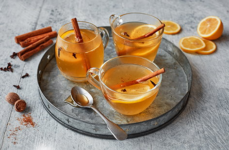 A hot toddy is the classic Scottish drink for a blustery winter's night. Whilst not exactly medicinal, it's certainly comforting: sweet, steaming, spiced... A magic mixture of Whisky, hot water, honey, lemon juice, and spices in a mug.