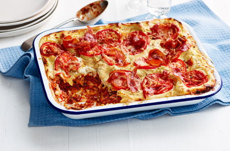 Dan and Liam's 'made for you' lasagne