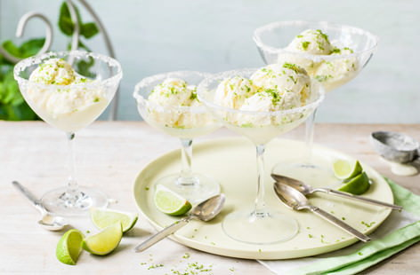 Margarita ice cream