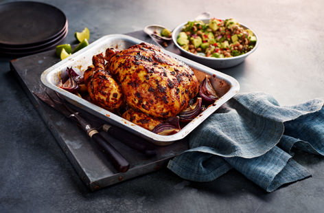 David's Mexican roast chicken
