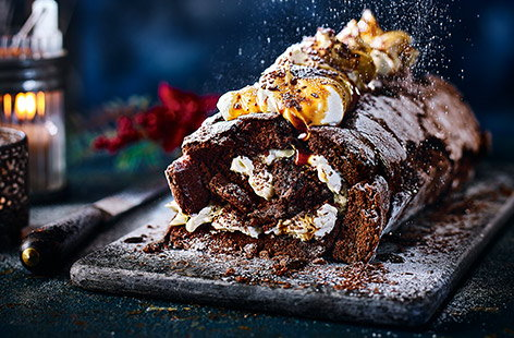 With a rich coffee and chocolate sponge and boozy Marsala syrup, this stunning and totally grown-up Christmas pud will have everyone coming back for seconds.