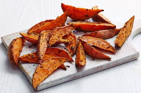 Sweet potato and rosemary fries