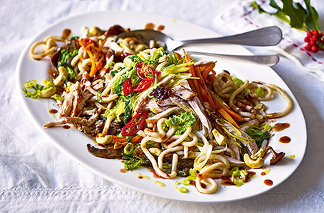 Have leftover turkey this Christmas? Don't let it go to waste, try spicing things up with this delicious teriyaki stir-fry recipe. Tasty, quick and nothing goes to waste, perfect!